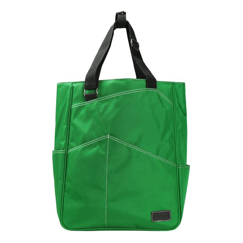 Tennis Tote in Emerald - Discontinued color, discounted price