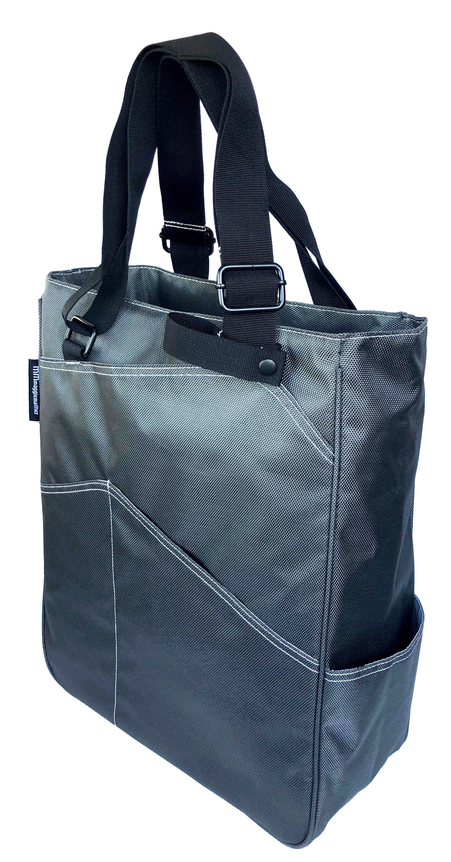 Tennis Tote in Pewter