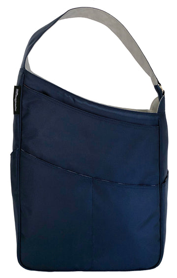 Shoulder Bag in Navy (Silver Lining)