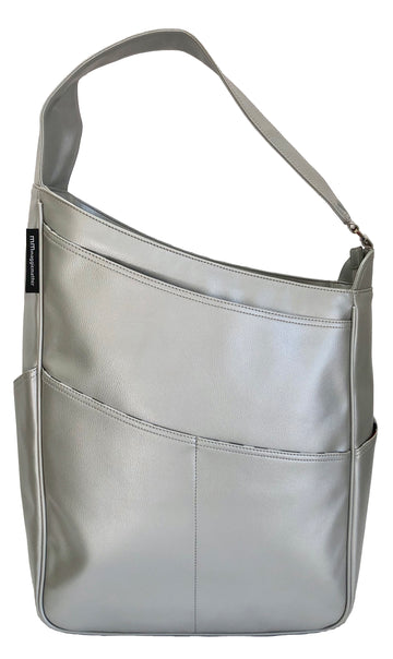 Shoulder Bag in Silver