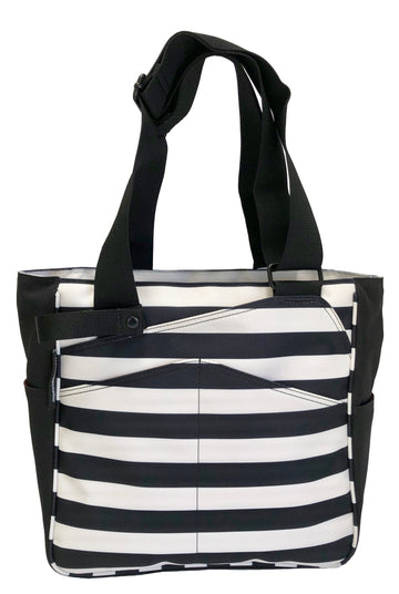 Mini T-Tote in Stripes