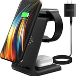 3 in 1 Wireless Charging Station - Minus One Store