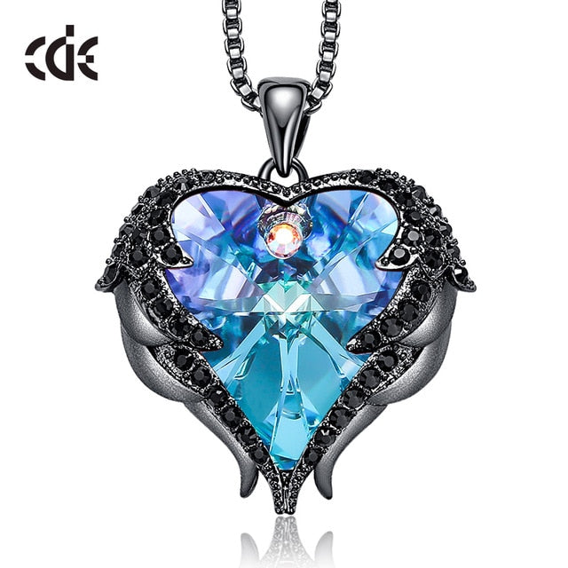 Swarovski Crystal Necklace - CDE Jewellery (SHIPS WITHIN 4-10 Days - USA)