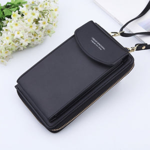 Clutch Wallet with Phone Storage