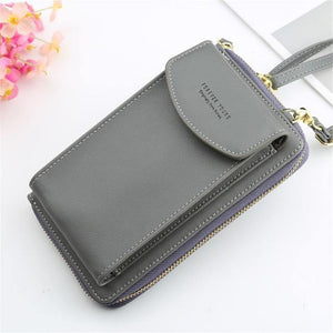 Clutch Wallet with Phone Storage - Minus One Store