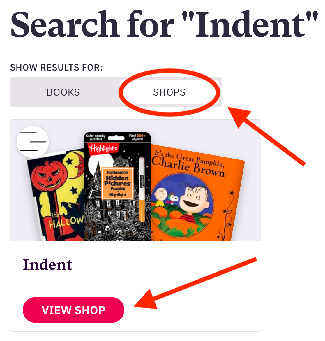 """Search for """"Indent"""""""