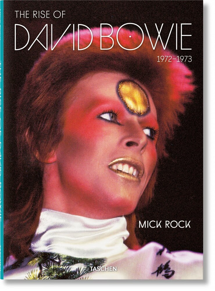 Mick Rock's book on David Bowie