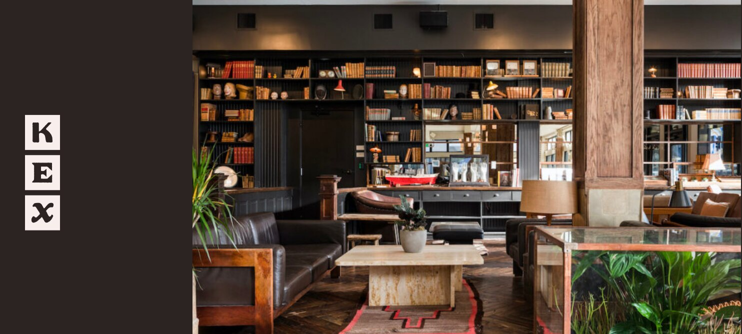 Kex Hotel Library