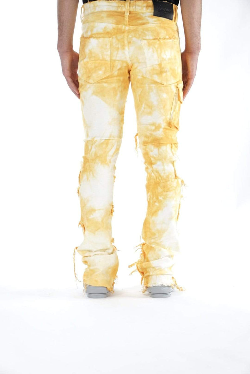 "Valabasas Denim STACKED DENIM VALABASAS STACKED ""AERGLO'' MARBLE YELLOW"
