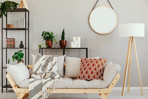 Combining modern and vintage furniture
