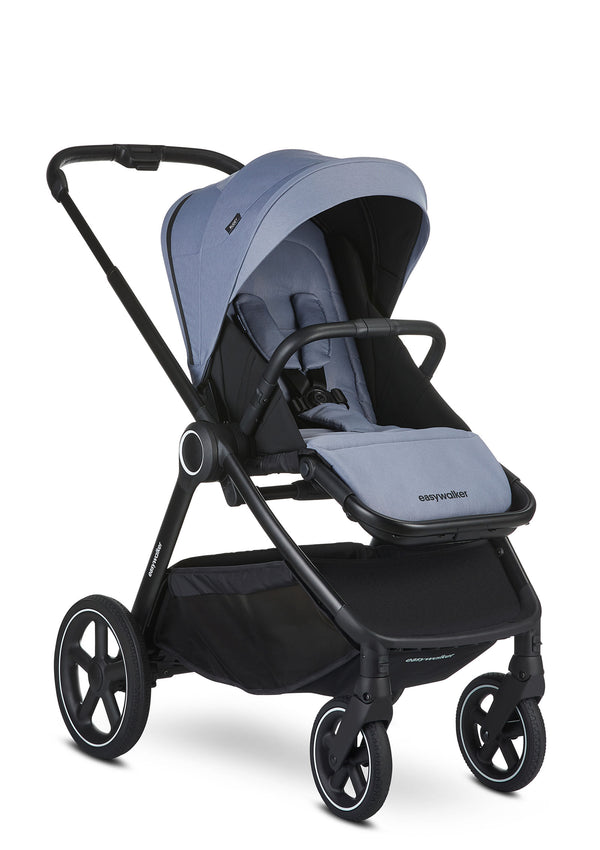 Rudey Kinderwagen-Set Steel Grey