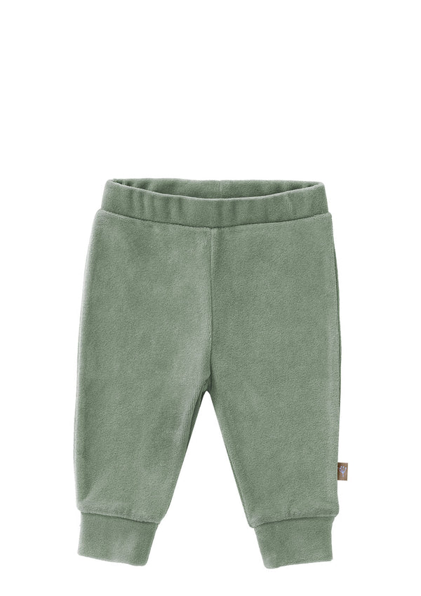 Babyhose Velours Forest green