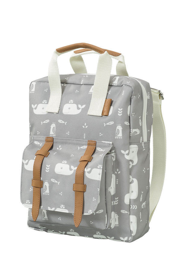 Kinderrucksack 'Whale' Dawn Grey