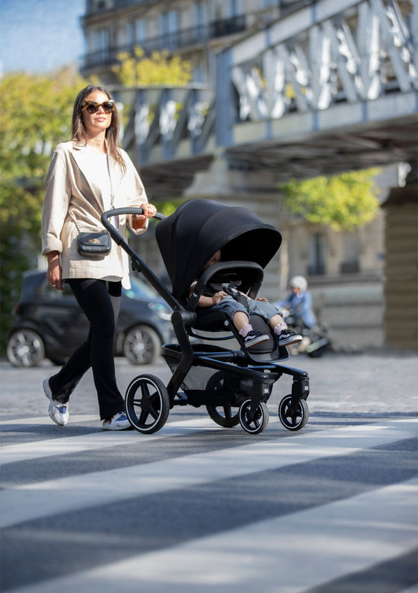 Hub+ Kinderwagen Brilliant black