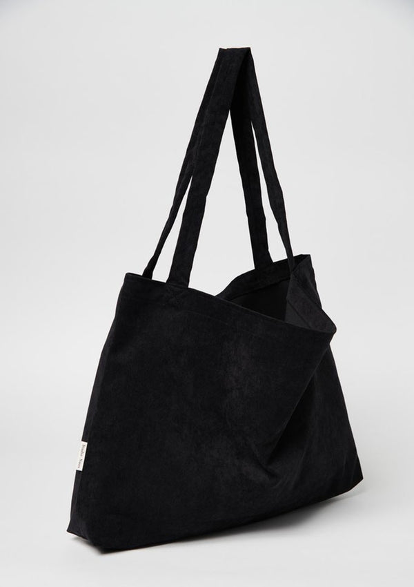 Tasche 'Mom-Bag' All black rib