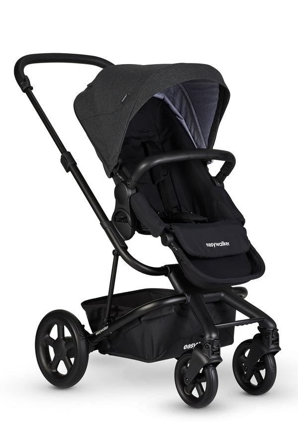 Harvey² Kinderwagen-Set Night Black
