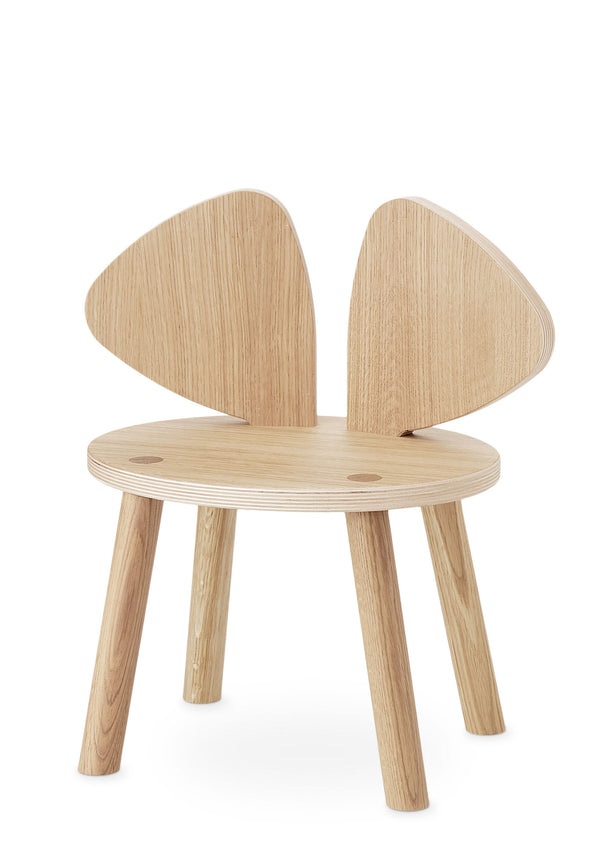 Kinderstuhl 'Mouse Chair' natur