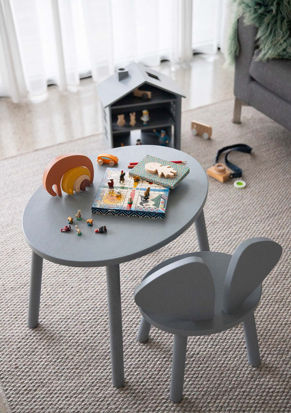 Kinderstuhl 'Mouse Chair' grau