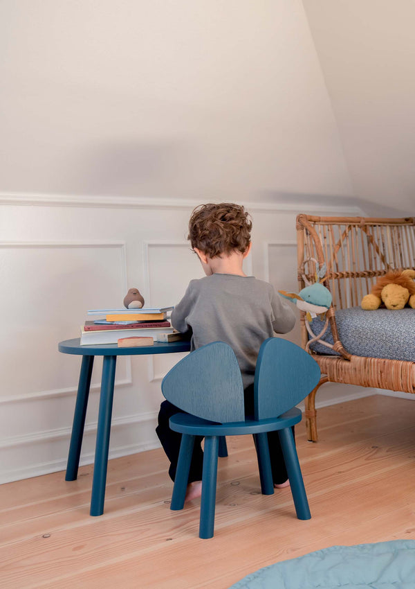Kinderstuhl 'Mouse Chair' petrol