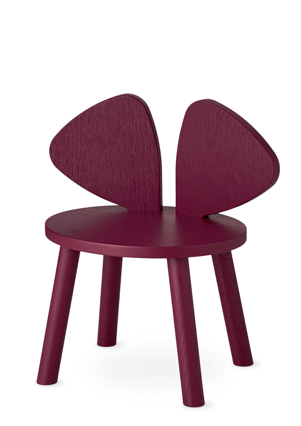 Kinderstuhl 'Mouse Chair' burgund