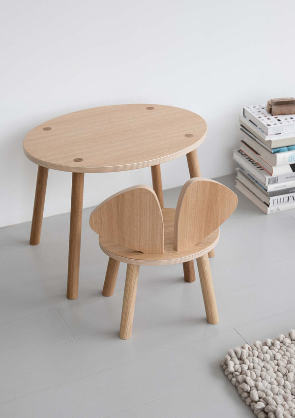 Kindertisch 'Mouse Table' natur