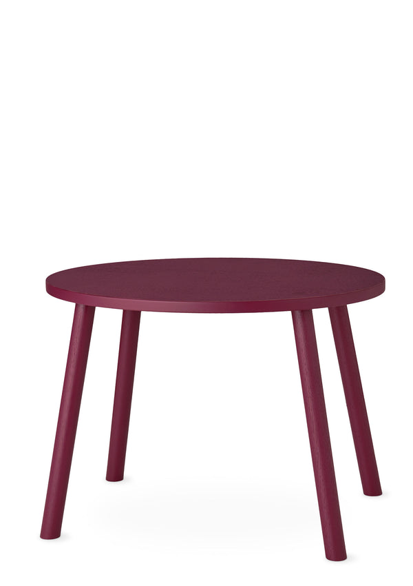 Kindertisch 'Mouse Table' burgund