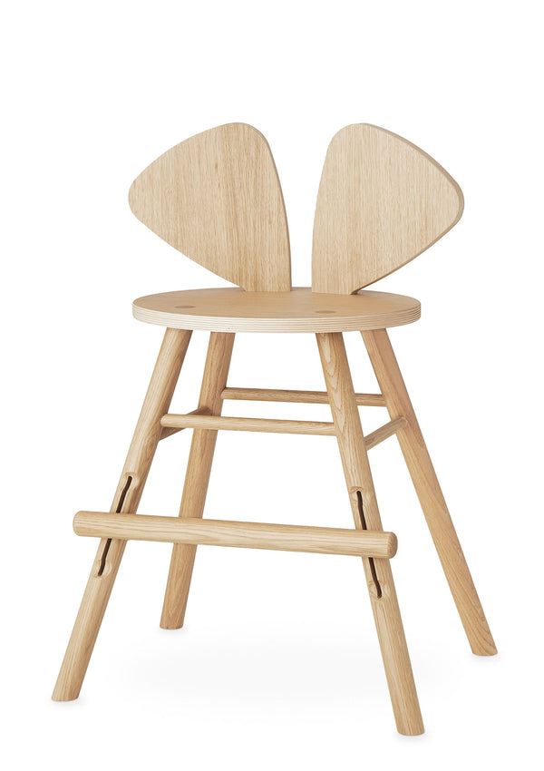 Hochstuhl 'Mouse Chair Junior' natur