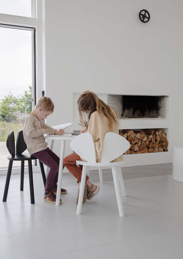 Kinderstuhl 'Mouse Chair School' weiss