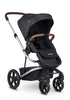 Harvey3 Kinderwagen-Set Premium Jet Black