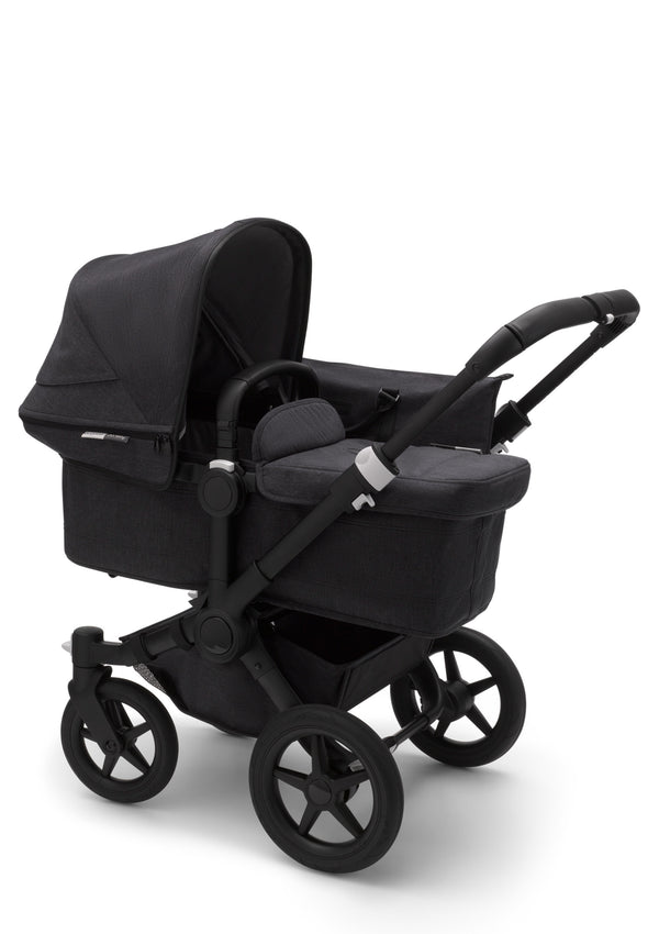 Donkey 3 mineral Mono Kinderwagen-Set Schwarz / Washed Black