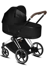 e-Priam Kinderwagen-Set Chrome Brown / Stardust Black