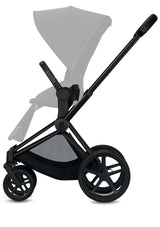Priam Kinderwagen-Set Matt Black / Soho Grey