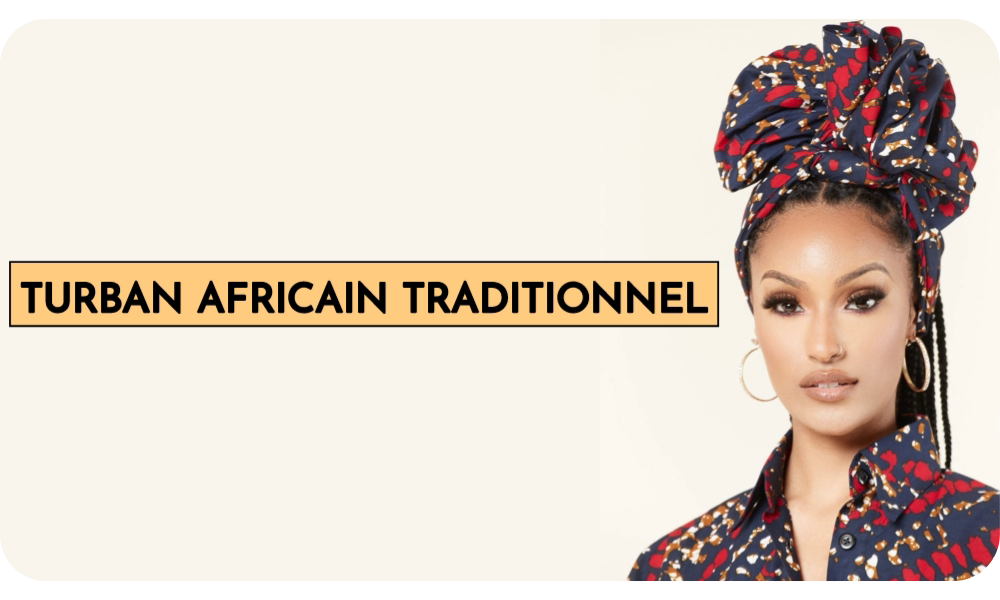 turban africain traditionnel