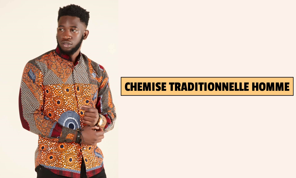 Chemise traditionnelle homme