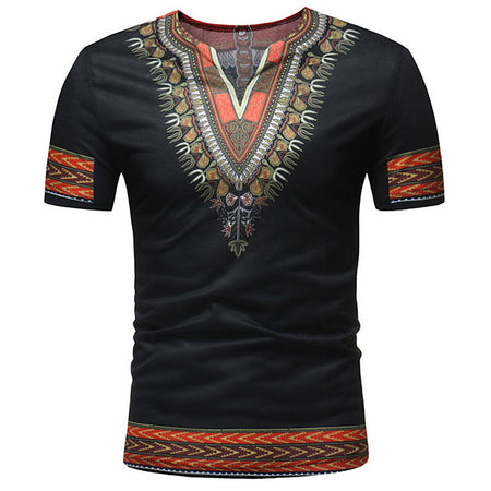 T-shirt Tribal Africain Homme - Royaume d'Afrique