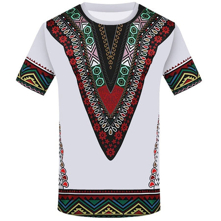 T-shirt Homme Style Africain - Royaume d'Afrique