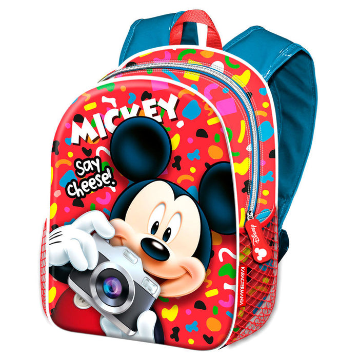 Mochila Mickey Disney Say Cheese 40cm