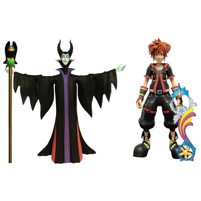 Figuras Malefica y Sora Kingdom Hearts 3 Disney 18cm - Freaks are Coming