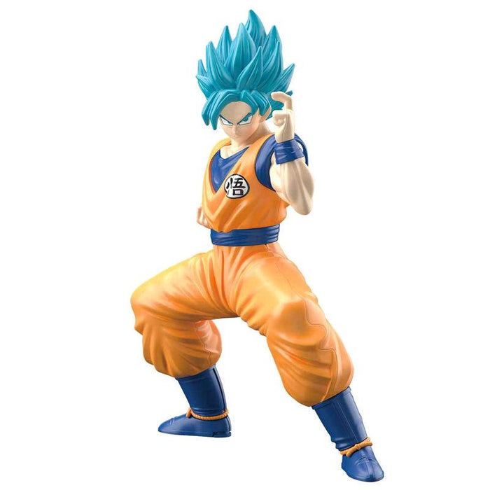 Kit Montaje Figura Son Goku Super Saiyan Azul Dragon Ball Super 15cm - Freaks are Coming
