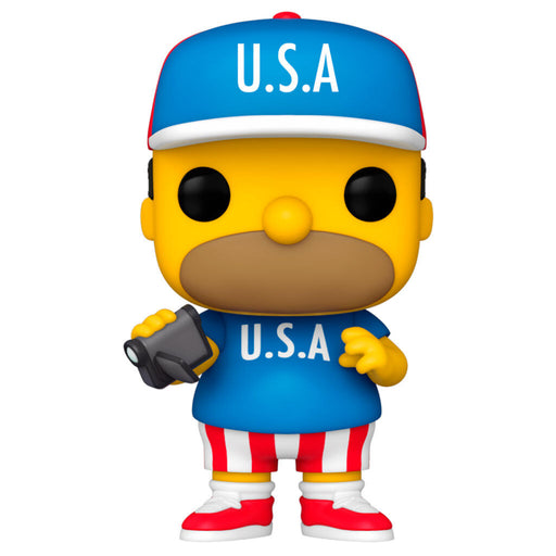 Figura Funko POP Simpsons USA Homer - Freaks are Coming