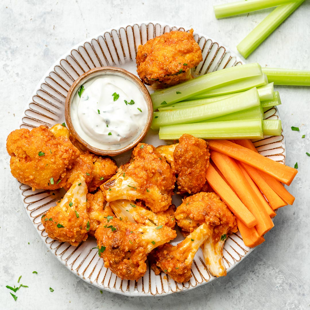 How to Make Air Fryer Buffalo Cauliflower Bites