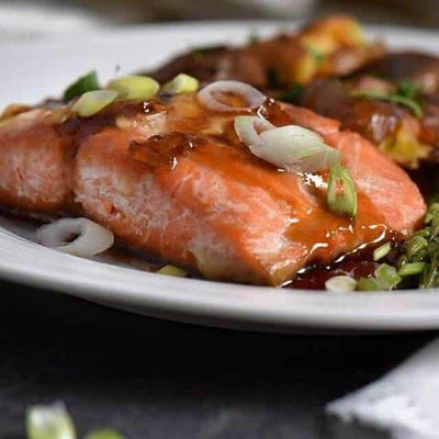 How to Make the Perfect Air Fryer Salmon with Maple Dijon-Glaze