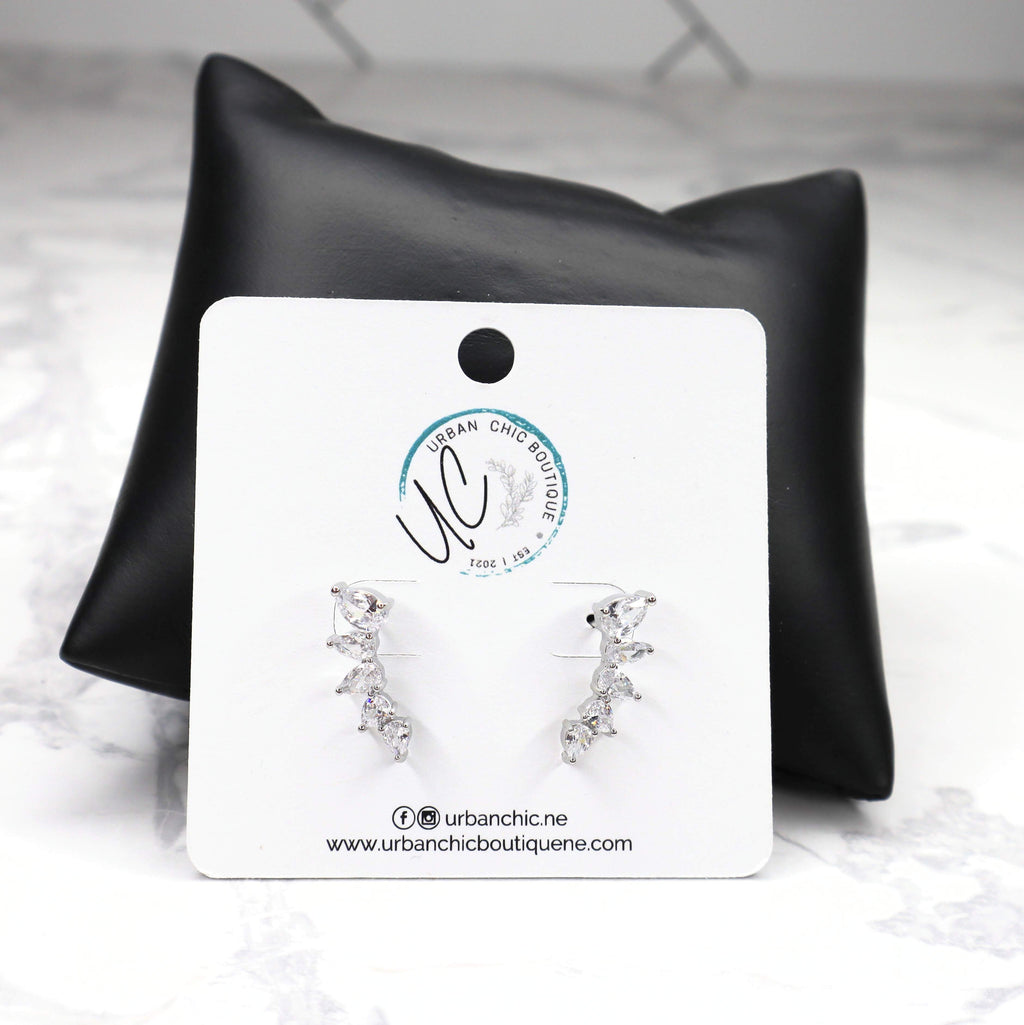 The Anastasia Earrings - Silver