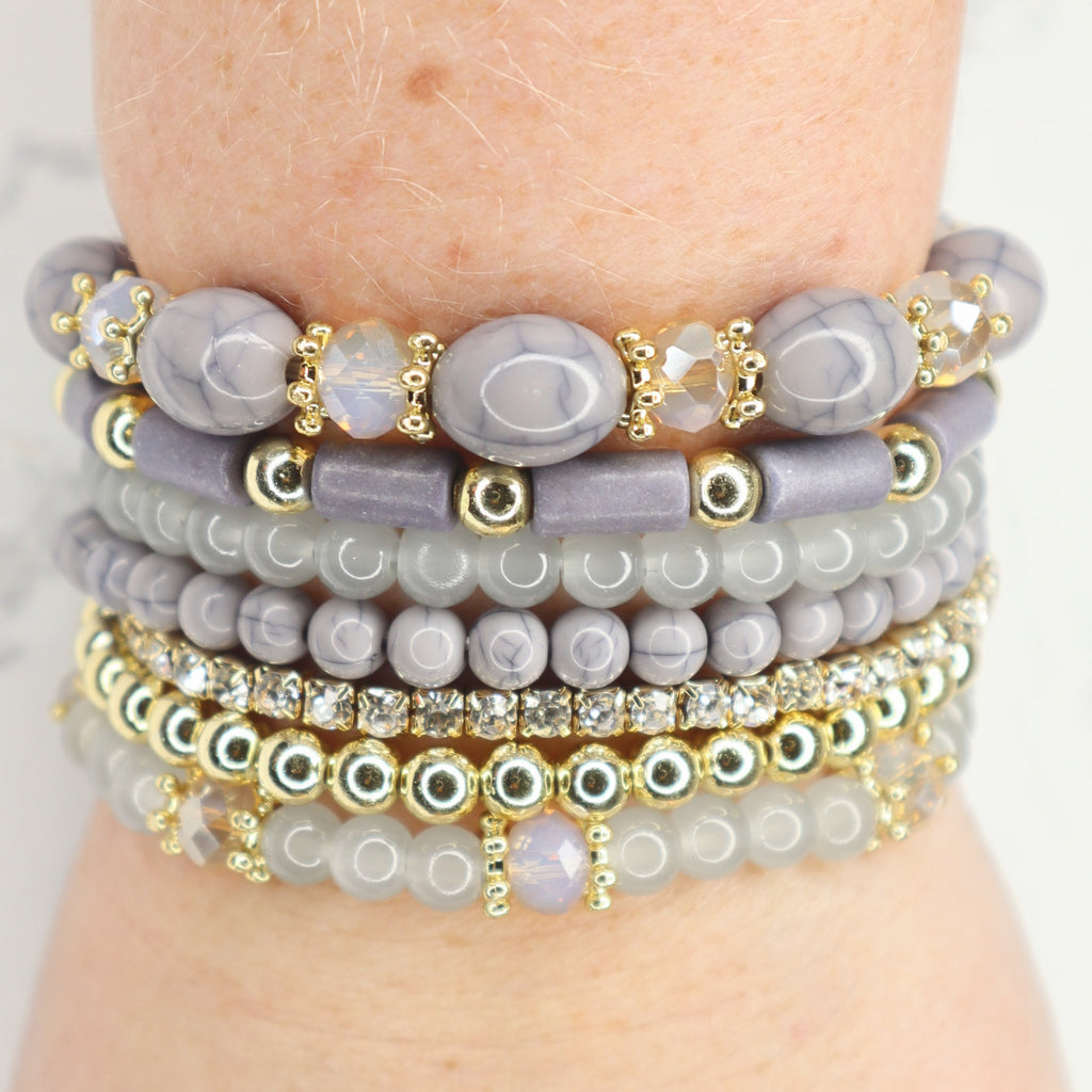 The Alyssa Stacked Bracelet