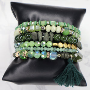 The Alena Bracelet - Green