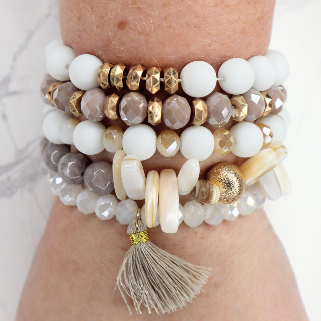 The Addison Stacked Bracelet
