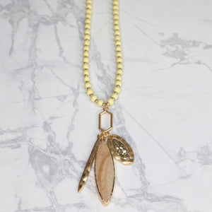 The Anika Necklace - Light Brown