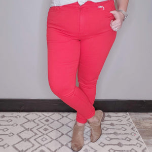 Husker Party Red KanCan Jeans