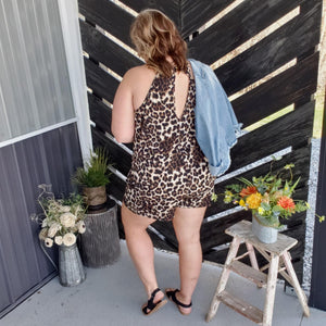 More to Give Cheetah Romper