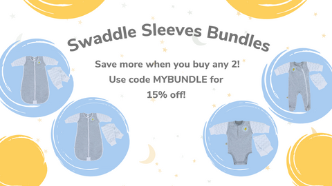 swaddle sleeves bundle discount graphic